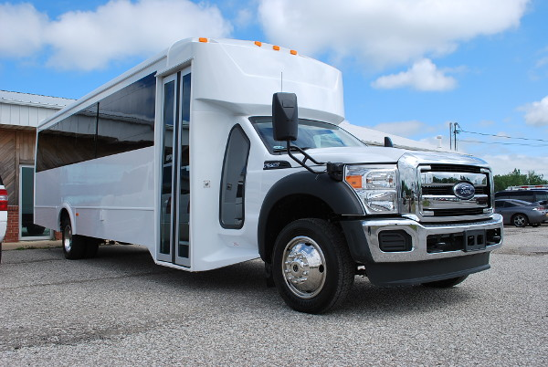 22 Passenger Party Bus Rental Laredo Texas