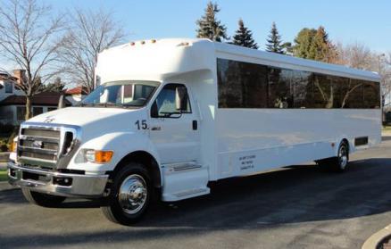 Laredo 36 Passenger Shuttle Bus
